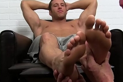 Muscular stud start-off sucked until its time for his chubby tax