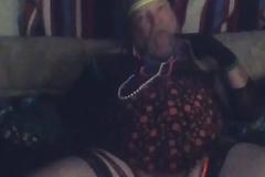 Sissy Faggot tiny Hawkshaw and botheration churn dance