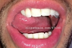 Tongue Fetish - Lance Tongue Part2 Video1