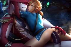 Link et son ami !
