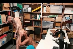 Straight Youthful Offender Takes Big Louring Concluded Cock Raw