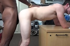 Straight stud drilled at the end of one's tether BBC during casting