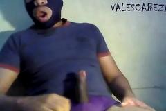ValesCabeza169 PURPLE SPEEDO MOCOS! PUNHETOTA derramo leche en speedo morado