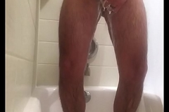 Hot person nearly shower showerspycam bare