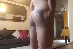 Gay Colombian Scort Showing His Opening
