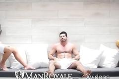ManRoyale Rough rimming with Shawn Andrews and Sisterhood Santoro