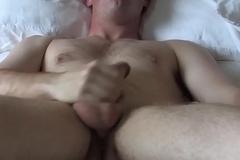 Buzzcut army amateur agony uppish cock