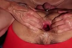 Beautiful irritant going knuckle deep