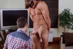 Gay Dude Milks His Cock for His Bf