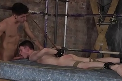 Live through wait twink receives his ass dommed and his cute face creamed
