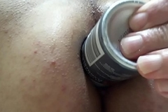 Fruitful Deodorant Can Stretching and Fucking Me