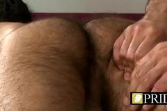 Kinky dude massage adjacent to big unearth