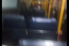 Indian stranger sees and kinkier my cock in public omnibus