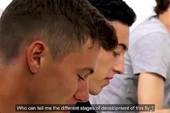 Excited HighSchool Boys -Ep 2 - Doryann Marguet &amp_ Jonathan Garnier
