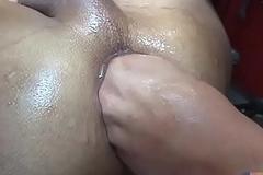 Latin Lad Void urine and Raw Threesome