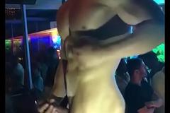 Disco Gay Stripper bared