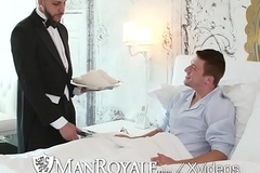 ManRoyale Rich Logan Taylor fucked by panhandler maid Fx Rios