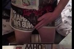 Sex apropos The Sun magazine less panties