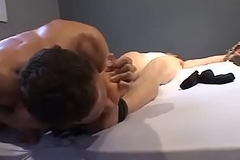 Sexy twink Chip produces a corrupt tickling with Dylan West