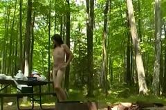 Naked camping and hiking at Seeming Lake by Mark Heffron