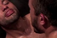 Alessio Romero &amp_ Leo Possibilities Spit Kissing detach from Dog Proceeding