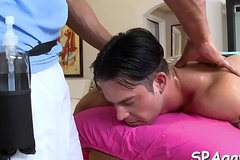 Wild massage for homosexual abide