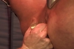 Happy-go-lucky hunks anus spread