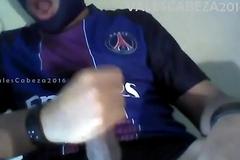 ValesCabeza095 Blistering Masked Guy steppe Speedo Enmascarado muy caliente en Speedo Negro