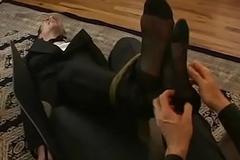 Attractive butler Ridgeway receives his anomalous punishment