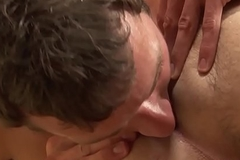 Stroking studs railing cock in trilogy