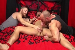 BDSM doms deep-throat and mosquito spex subs bushwa