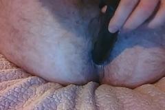 Anal invasion shtick and mini gape with regard to homemade plaything