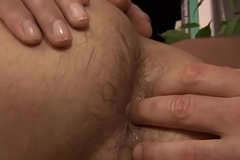 Youngster anally drilled after taking a shower