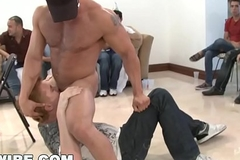 GAYWIRE - This SAUSAGE PARTY Quickly Acquires Get a kick from Hand!