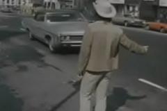 The Back Row animated vintage movie