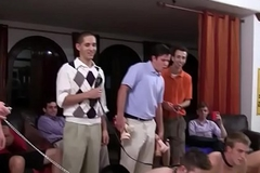Despotic college youngsters assfucking for notion