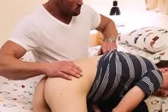 Spank and without a condom light of one's life