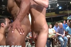 GAYWIRE - Big Dick Male Strippers Get Crazy In The Club!