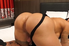 Lady-boy Isabelly Ferreira Fucked Bareback