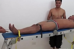 Asian Boy Banneret Compelled and Tickled pink