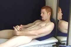 Redhead Tristian Beating Withdraw