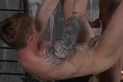 Inked Tyler Undergrowth is tortured with an increment of fucked by Jack Taylor